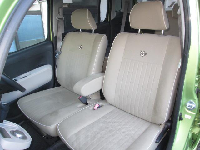 ロングドライブで座っていても疲れない機能的なシート。