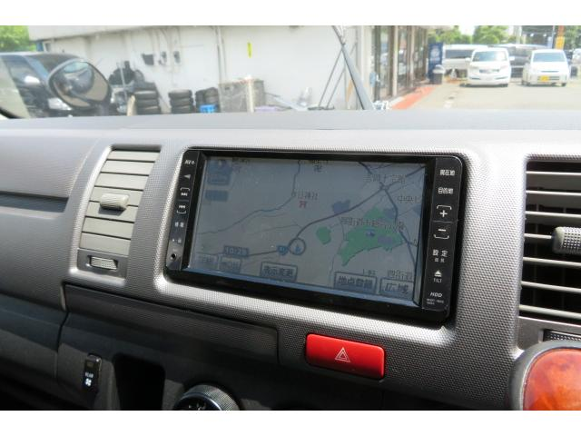 トヨタ ハイエースバン ロングスーパーGL HDDナビ TV ETC