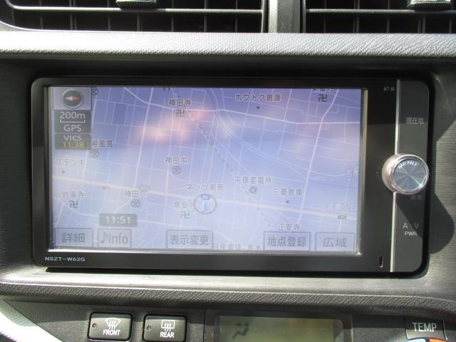 トヨタ アクア S SDナビ フルセグ スマートキー ETC オートエアコン