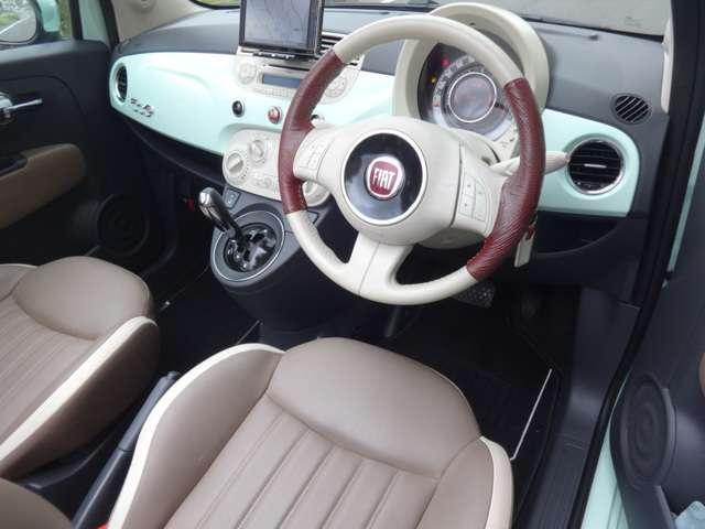 「フィアット」「フィアット 500C」「コンパクトカー」「東京都」の中古車4