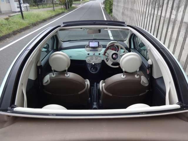 「フィアット」「フィアット 500C」「コンパクトカー」「東京都」の中古車12