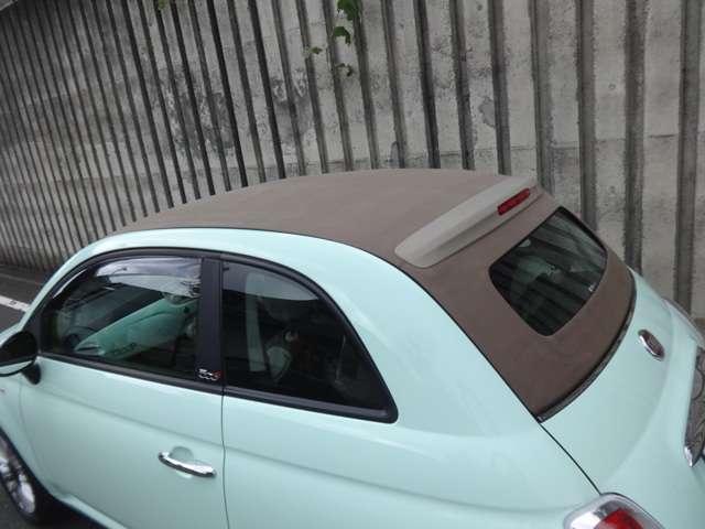 「フィアット」「フィアット 500C」「コンパクトカー」「東京都」の中古車14