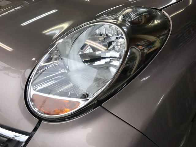 暗闇でも前方をくっきりと照らしてくれるライトです。夜の運転でも安心ですね。