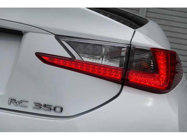 RC350 Fスポーツ レッドレザーシート 3眼LEDヘッドライト 新品ブリッツ車高調 TSWバサーストRF20インチ 前後メーガンレーシング調整式アーム スリーキャッツマフラー(17枚目)