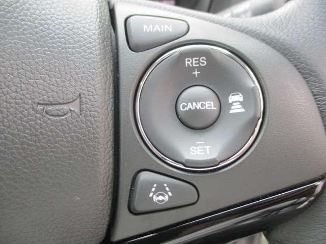 ホンダセンシングで運転サポートします。アダプティブクルーズコントロールで高速道路もらくらくです!