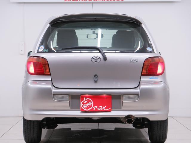 トヨタ ヴィッツ RS 5MT サンルーフ 純正14AW リアディスクB