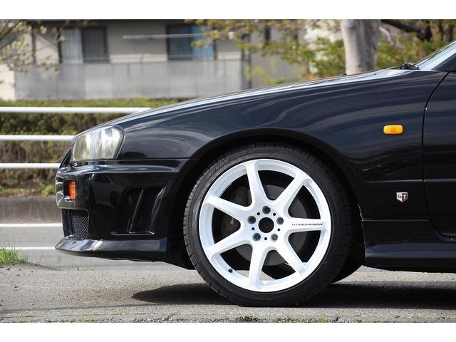 日産 スカイライン 25GTターボ 新品車高調 新品18インチ
