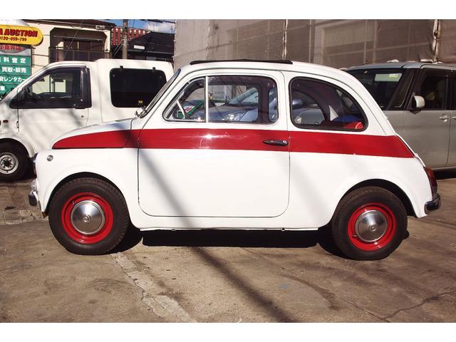「フィアット」「チンクチェント」「コンパクトカー」「東京都」の中古車5