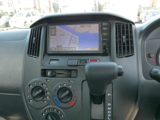 DX 取説等一式付 禁煙車 オートマチック ABS 純正オプションSDナビ地デジTV ETC 三方開き レンタアップ車(10枚目)