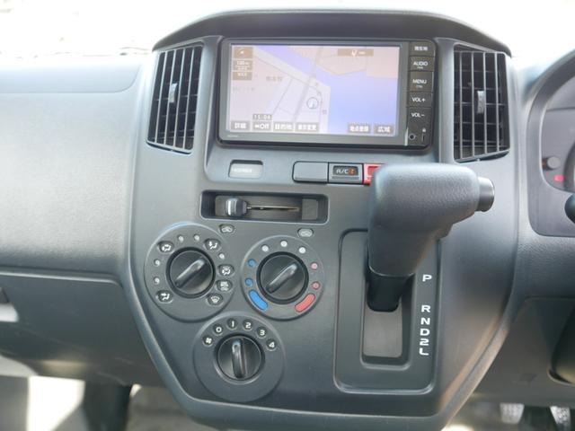 DX 取説等一式付 禁煙車 オートマチック ABS 純正オプションSDナビ地デジTV ETC 三方開き レンタアップ車(11枚目)