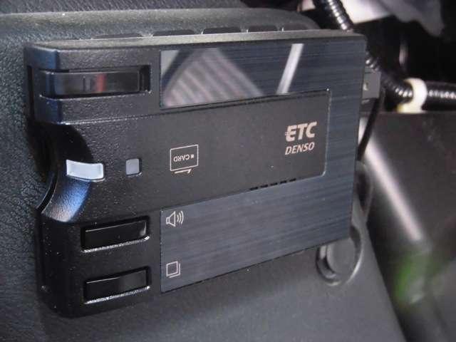 ETC車載器装着!有料道路の乗り降りもノンストップで通過できます☆