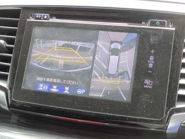 ハイブリッドアブソルート・ホンダセンシンアドバンスP ナビ リアカメラ フルセグ ETC LED ETC 地デジ 衝突軽減 1オナ LED アルミ バックモニター(3枚目)