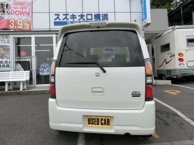 スズキ ワゴンR RR-Sリミテッド ワンオーナー禁煙車 記録簿Goo鑑定証