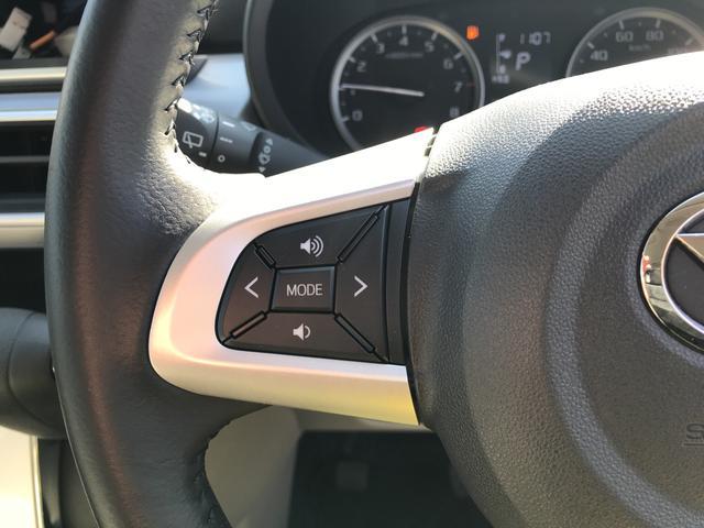 高速時に安定感があり、スタイリッシュな165/55R15の扁平タイヤアルミホイール付きです。