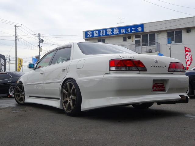 トヨタ クレスタ ルラーンS改 2JZ-GTE 5速MT