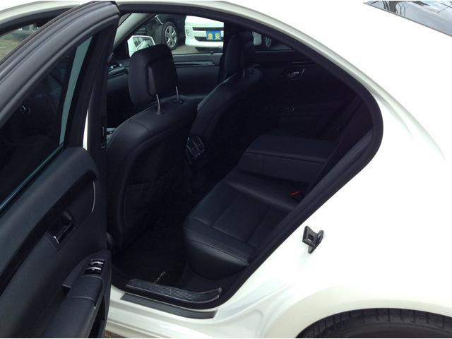 S350 AMGパッケージ 黒革シート サンルーフ 純正ナビ(8枚目)