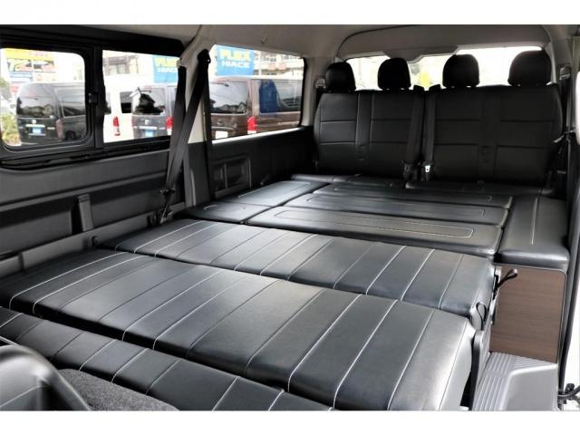 ワゴンGL2WD フレックスオリジナルシートAS内装アレンジ AVESTドアミラーウインカー FLEXカスタムコンプリート(7枚目)