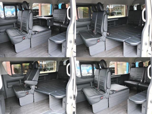 GL 4WDガソリン FLEXオリジナル内装Ver1アレンジ施工 内外装コンプリートカスタム(9枚目)