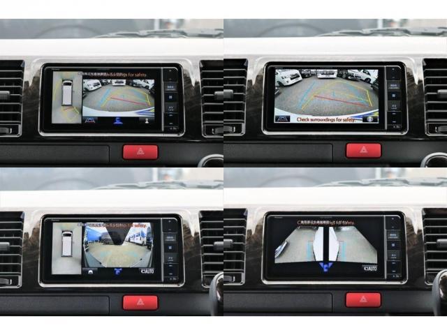 GL フレックスオリジナル内装架装Ver1木目柄フロア床張りフルセグ7インチナビフリップダウンモニターHDMIソケットUSB充電ソケットシートカバーローダウンアルミホイールグッドイヤーナスカータイヤ(11枚目)