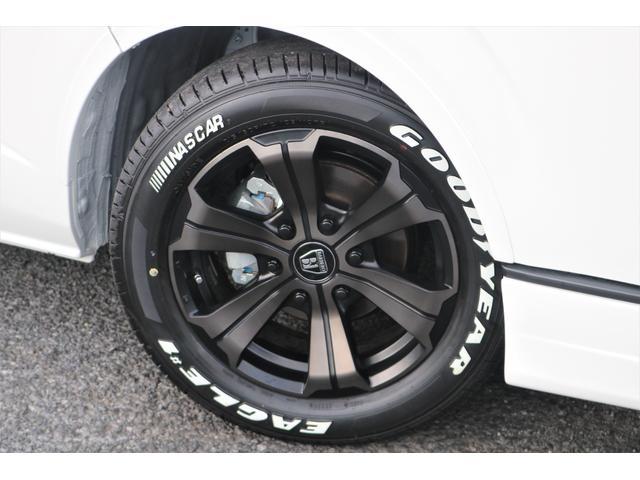 GL フレックスオリジナル内装架装Ver1木目柄フロア床張りフルセグ7インチナビフリップダウンモニターHDMIソケットUSB充電ソケットシートカバーローダウンアルミホイールグッドイヤーナスカータイヤ(21枚目)