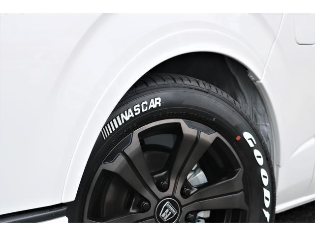 GL フレックスオリジナル内装架装Ver1木目柄フロア床張りフルセグ7インチナビフリップダウンモニターHDMIソケットUSB充電ソケットシートカバーローダウンアルミホイールグッドイヤーナスカータイヤ(25枚目)