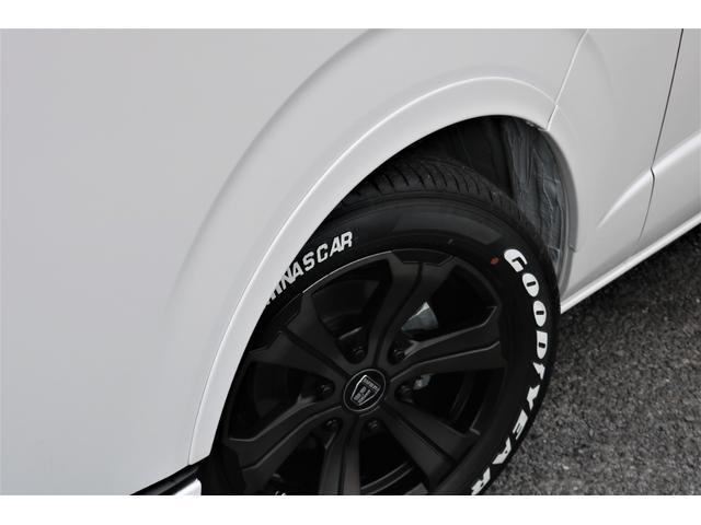 GL フレックスオリジナル内装架装Ver1木目柄フロア床張りフルセグ7インチナビフリップダウンモニターHDMIソケットUSB充電ソケットシートカバーローダウンアルミホイールグッドイヤーナスカータイヤ(26枚目)