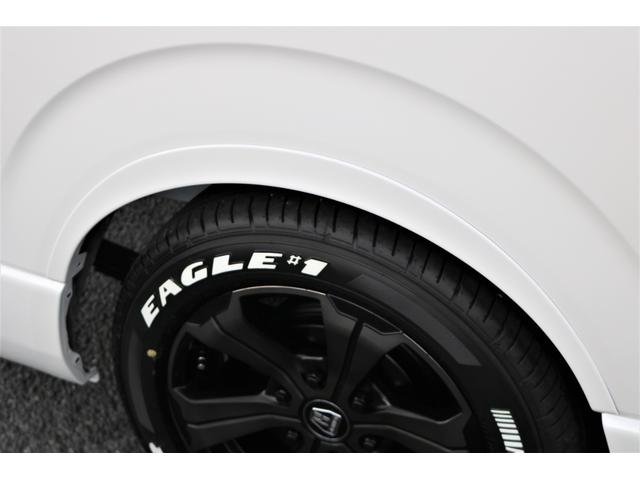 GL フレックスオリジナル内装架装Ver1木目柄フロア床張りフルセグ7インチナビフリップダウンモニターHDMIソケットUSB充電ソケットシートカバーローダウンアルミホイールグッドイヤーナスカータイヤ(27枚目)