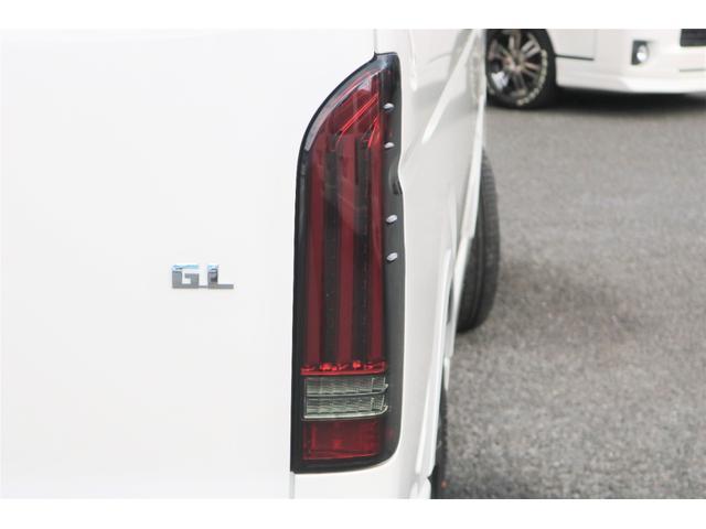 GL フレックスオリジナル内装架装Ver1木目柄フロア床張りフルセグ7インチナビフリップダウンモニターHDMIソケットUSB充電ソケットシートカバーローダウンアルミホイールグッドイヤーナスカータイヤ(28枚目)