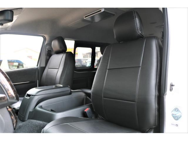 GL フレックスオリジナル内装架装Ver1木目柄フロア床張りフルセグ7インチナビフリップダウンモニターHDMIソケットUSB充電ソケットシートカバーローダウンアルミホイールグッドイヤーナスカータイヤ(41枚目)
