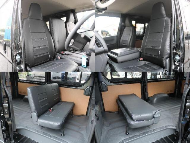 DX GLパッケージ クリーンディーゼル2WDブラックコンプリートシリーズFLEXアルミホイールナスカータイヤパナソニック製フルセグナビビルトインETCインナーブラックライトマッドブラックカスタムLEDテールランプ(7枚目)
