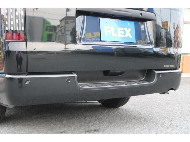 DX GLパッケージ クリーンディーゼル2WDブラックコンプリートシリーズFLEXアルミホイールナスカータイヤパナソニック製フルセグナビビルトインETCインナーブラックライトマッドブラックカスタムLEDテールランプ(13枚目)