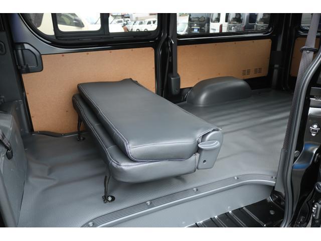 DX GLパッケージ クリーンディーゼル2WDブラックコンプリートシリーズFLEXアルミホイールナスカータイヤパナソニック製フルセグナビビルトインETCインナーブラックライトマッドブラックカスタムLEDテールランプ(36枚目)