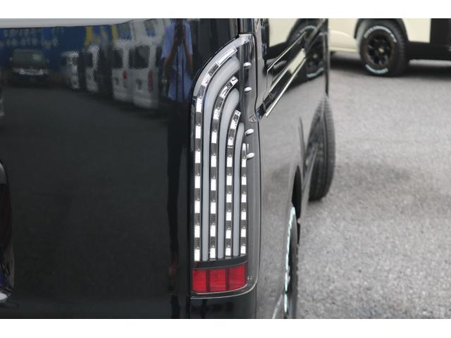 DX GLパッケージ クリーンディーゼル2WDブラックコンプリートシリーズFLEXアルミホイールナスカータイヤパナソニック製フルセグナビビルトインETCインナーブラックライトマッドブラックカスタムLEDテールランプ(49枚目)