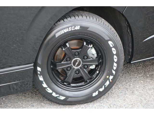 DX GLパッケージ クリーンディーゼル2WDブラックコンプリートシリーズFLEXアルミホイールナスカータイヤパナソニック製フルセグナビビルトインETCインナーブラックライトマッドブラックカスタムLEDテールランプ(54枚目)