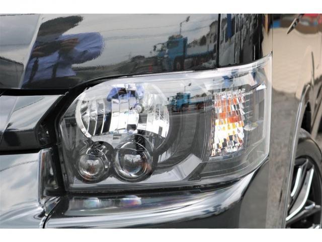 GL ロング 新車ハイエースワゴンGLブラックスシーリーズアルパインフルセグ11インチSDナビHDMIソケットミラーリングDELF01アルミホイールGOODYEARナスカータイヤ18インチオリジナルシートカバー(14枚目)