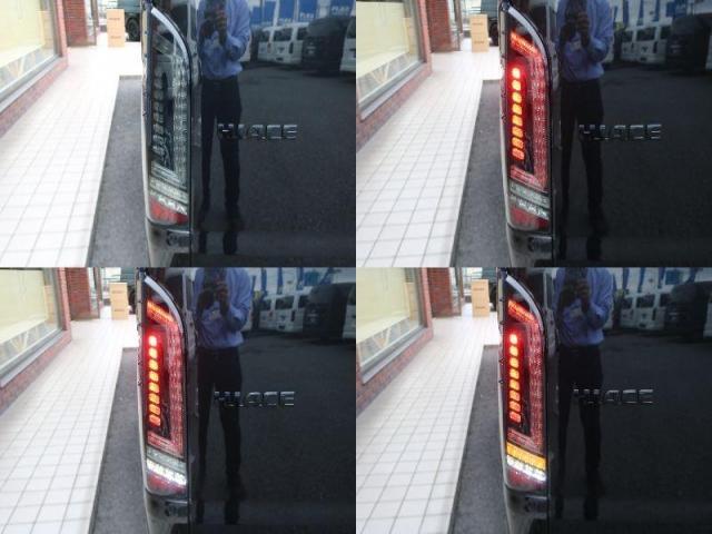 GL ロング 新車ハイエースワゴンGLブラックスシーリーズアルパインフルセグ11インチSDナビHDMIソケットミラーリングDELF01アルミホイールGOODYEARナスカータイヤ18インチオリジナルシートカバー(17枚目)