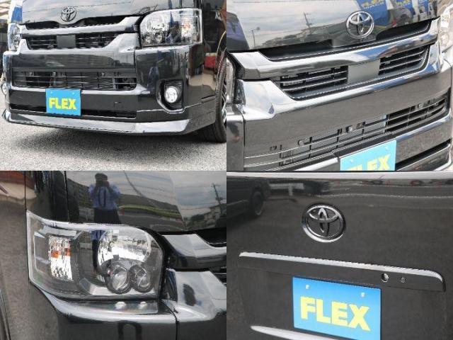 GL ロング 新車ハイエースワゴンGLブラックスシーリーズアルパインフルセグ11インチSDナビHDMIソケットミラーリングDELF01アルミホイールGOODYEARナスカータイヤ18インチオリジナルシートカバー(18枚目)