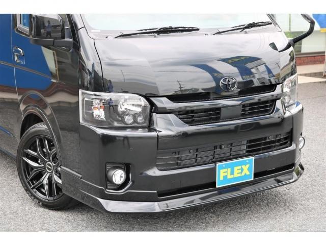 GL ロング 新車ハイエースワゴンGLブラックスシーリーズアルパインフルセグ11インチSDナビHDMIソケットミラーリングDELF01アルミホイールGOODYEARナスカータイヤ18インチオリジナルシートカバー(19枚目)
