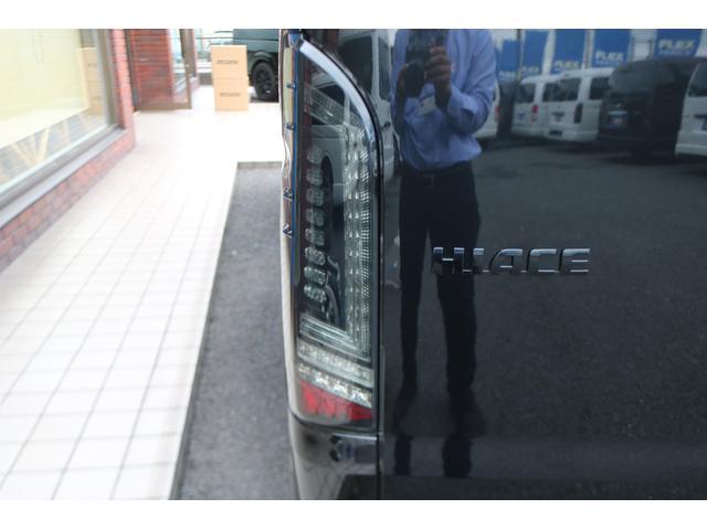 GL ロング 新車ハイエースワゴンGLブラックスシーリーズアルパインフルセグ11インチSDナビHDMIソケットミラーリングDELF01アルミホイールGOODYEARナスカータイヤ18インチオリジナルシートカバー(25枚目)