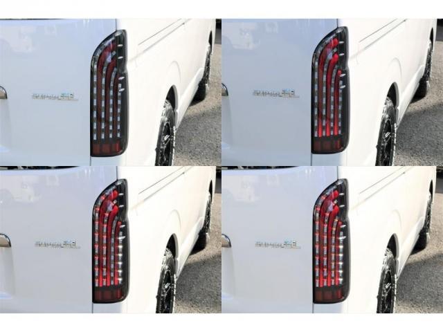 スーパーGL ダークプライムII 床張り施工フルセグSDナビビルドインETCフリップダウンモニター1.5インチローダウンFLEXリップスポイラーLEDテールライト煌REDバルベロ17インチアルミホイール&GOODYEARナスカー(7枚目)
