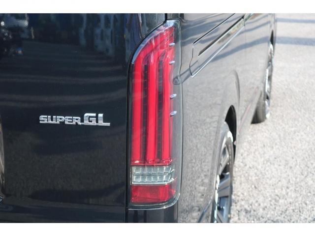 スーパーGL ダークプライムII アクティブパッケージフルセグSDナビビルドインETCフリップダウンモニター1.5インチローダウンFLEXリップスポイラーベットキットフロア床張り施工バルベロ17インチアルミホイール(7枚目)
