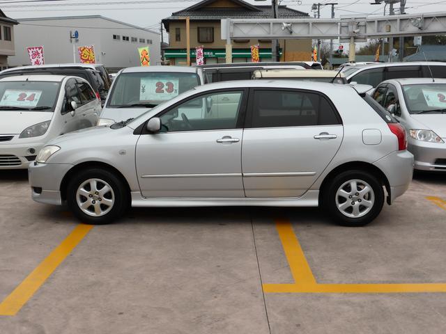 トヨタ アレックス XS150 Sエディション ワンオーナー 純正DVDナビ n