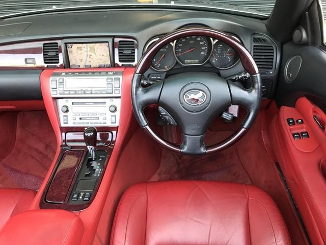 トヨタ ソアラ 430SCV ノーブルカラーエディション 赤インテリマクレビ