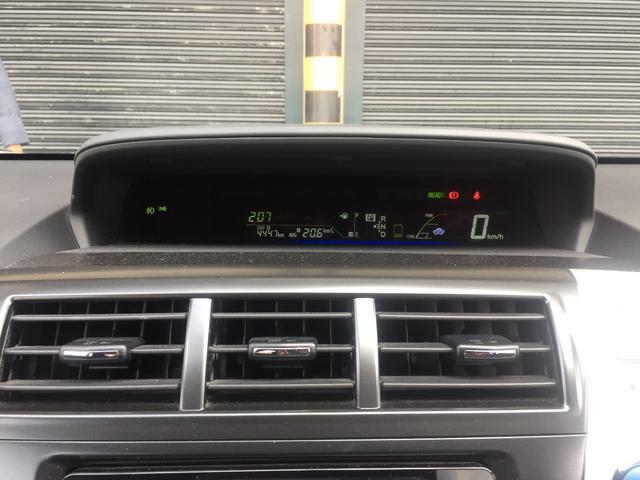 トヨタ プリウスアルファ G 3列シート 7人乗り HDDナビTV Bカメラ付