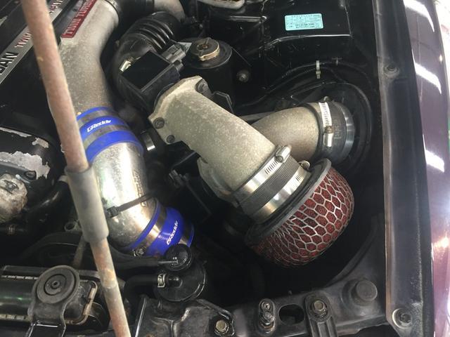 GT-R 前置きインタークーラー レカロシート(10枚目)