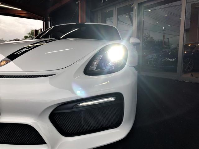 GT4 2016yモデル ケイマンGT4 スポーツクロノPKG スポーツエキゾースト 専用20インチアルミホイル ハーフレザー アルカンターラルーフライナー(4枚目)