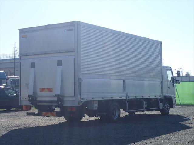 日野 ウイング車 ゲート付 6MT(5枚目)
