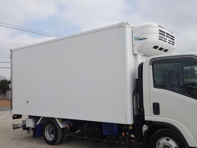 いすゞ エルフトラック いすゞ 冷蔵冷凍車 ワイドロング 格納ゲート