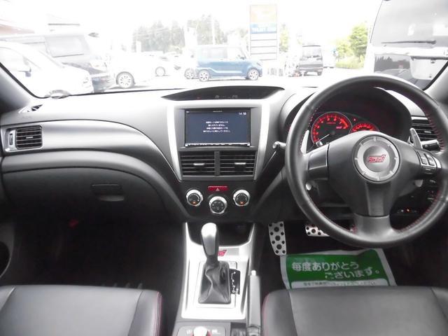 WRX STI Aライン 黒本革 スマートキー 4WD(10枚目)