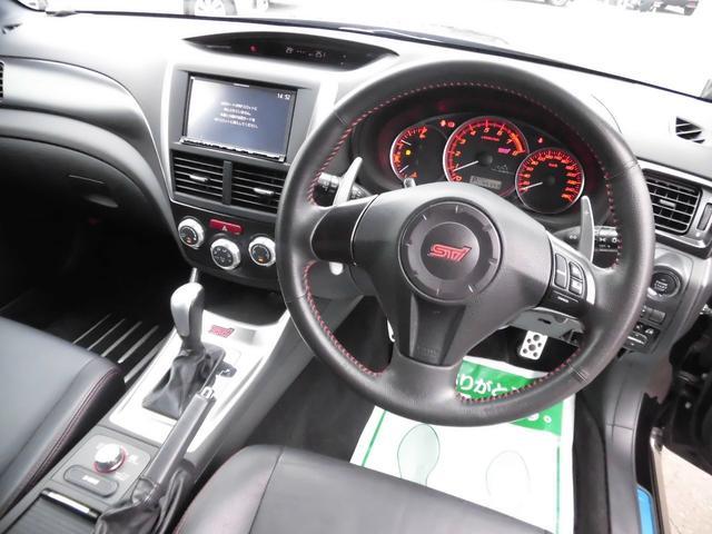 WRX STI Aライン 黒本革 スマートキー 4WD(14枚目)